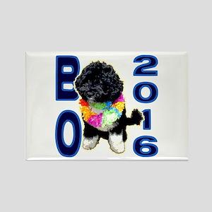 BO OBAMA 2016 - Rectangle Magnet