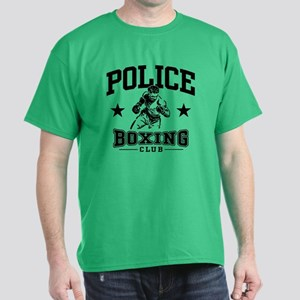 Police Boxing Dark T-Shirt