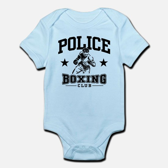 Police Boxing Infant Bodysuit
