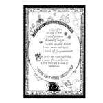 Recipe For A Happy Home Postcards (package Of 8)