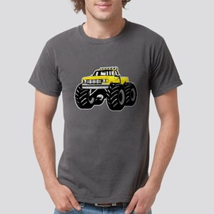 Yellow MONSTER Truck Mens Comfort Colors® Shirt