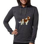 Cavalier King Charles Spaniel Womens Hooded Shirt