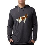 Cavalier King Charles Spaniel Mens Hooded Shirt