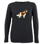 Cavalier King Charles Sp Plus Size Long Sleeve Tee