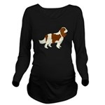 Cavalier King Charle Long Sleeve Maternity T-Shirt