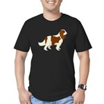 Cavalier King Charles Men's Fitted T-Shirt (dark)