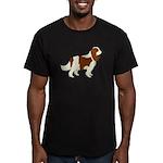 Cavalier King Charles Men's Fitted T-Shirt (dark)