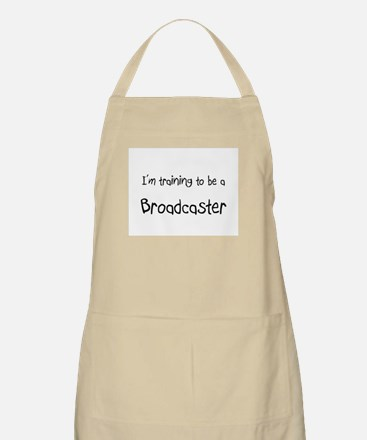 I'm training to be a Broadcaster BBQ Apron