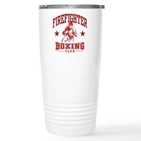 Firefighter Boxing Stainless Steel Travel Mug