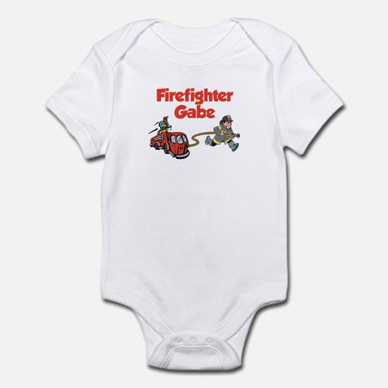 Firefighter Gabe Infant Bodysuit