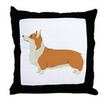Pembrook Welsh Corgi Throw Pillow