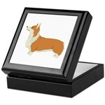 Pembrook Welsh Corgi Keepsake Box