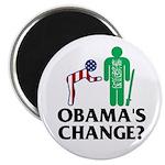 """Change? 2.25"""" Magnet (100 pack)"""