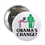 """Change? 2.25"""" Button (10 pack)"""