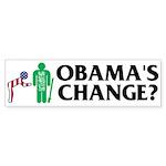 Change? Bumper Sticker (10 pk)