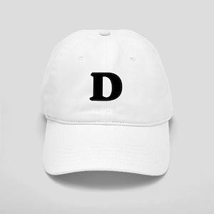 Large Letter D Cap
