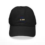 St. Louis Football Black Cap