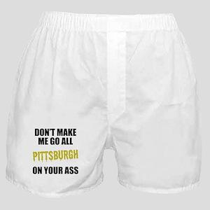 Pittsburgh Football Boxer Shorts