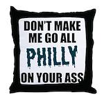 Philadelphia Football Throw Pillow