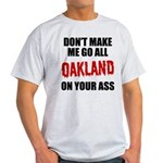Oakland Football Light T-Shirt