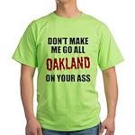 Oakland Football Green T-Shirt