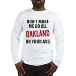 Oakland Football Long Sleeve T-Shirt