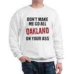 Oakland Football Sweatshirt