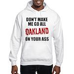 Oakland Football Hooded Sweatshirt