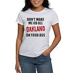 Oakland Football Women's T-Shirt