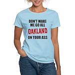 Oakland Football Women's Light T-Shirt