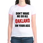 Oakland Football Jr. Ringer T-Shirt