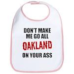 Oakland Football Bib