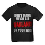Oakland Football Kids Dark T-Shirt