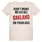 Oakland Football Organic Kids T-Shirt