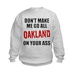 Oakland Football Kids Sweatshirt
