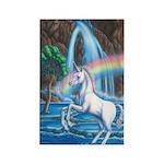 Rainbow Unicorn Rectangle Magnet