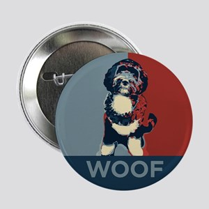 "WOOF! Bo The First Dog 2.25"" Button"