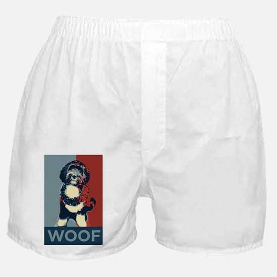 WOOF! Bo The First Dog Boxer Shorts