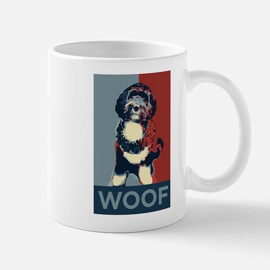 WOOF! Bo The First Dog Mug
