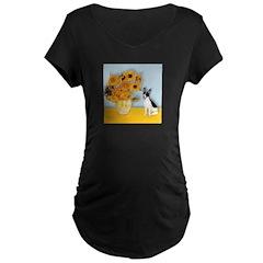 Sunflowers / Rat Terrier T-Shirt