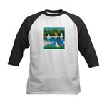 Sailboats / Rat Terrier Kids Baseball Jersey