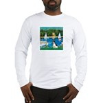 Sailboats / Rat Terrier Long Sleeve T-Shirt
