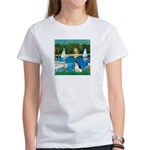 Sailboats / Rat Terrier Women's T-Shirt