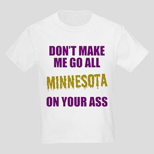 Minnesota Football Kids Light T-Shirt