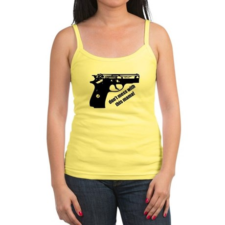 Don't Mess With This Mama! Jr. Spaghetti Tank