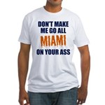 Miami Football Fitted T-Shirt