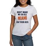 Miami Football Women's T-Shirt