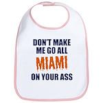 Miami Football Bib