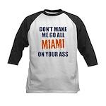 Miami Football Kids Baseball Jersey