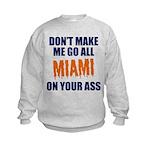 Miami Football Kids Sweatshirt